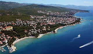 The town of Crikvenica