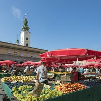 "Dolac Market: ""The Stomach of Zagreb"""