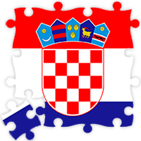 Croatian Flag Jigsaw