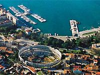 The town of Pula